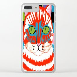 Bad Cattitude - Cats Clear iPhone Case
