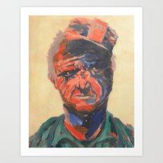 Miner#1 Art Print