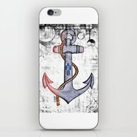 anchorman iPhone & iPod Skins featuring Anchorman by Funniestplace