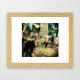 Mad World Framed Art Print