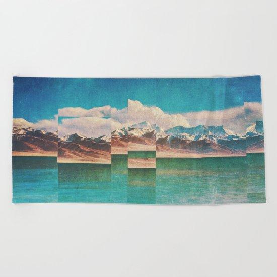 Fractions A22 Beach Towel