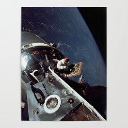 Apollo 9 - Spacewalk Poster