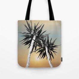 Cali Summer Vibes Palm Trees #1 #tropical #decor #art #society6 Tote Bag