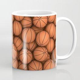 Basketballs Coffee Mug