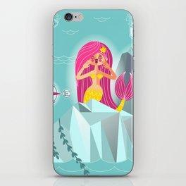 Mermaid's Call iPhone Skin