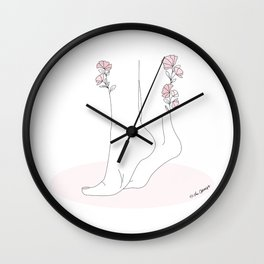 Taking Baby Steps Wall Clock