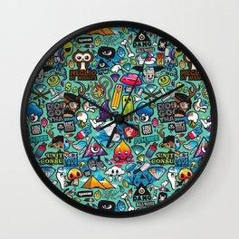 Murales Tag Wall Clock