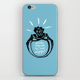 Bride-to-be iPhone Skin