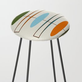 Mid-Century Modern Art 1.2 Counter Stool