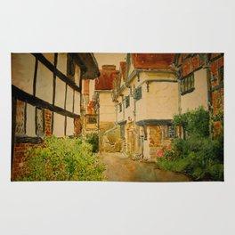 Old streets near London Rug