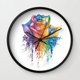 Fragile Beauty Wall Clock