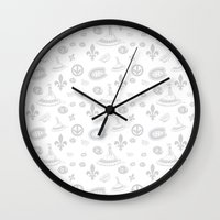 montreal Wall Clocks featuring montreal  by meli_lebain