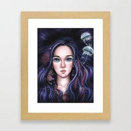 The Ocean In Me Framed Art Print