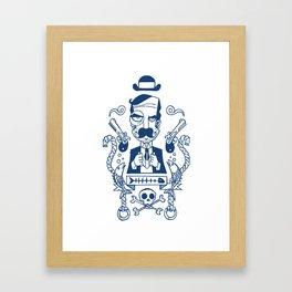 Captain Seadandy Framed Art Print