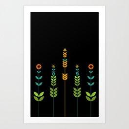 Simple Flowers Art Print