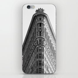 Flatiron Black and White NYC iPhone Skin
