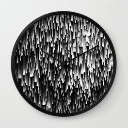 Digital Shag Wall Clock
