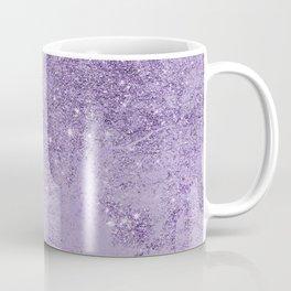 Modern elegant lavender lilac glitter marble Coffee Mug