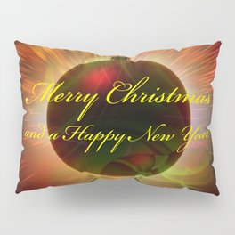 Merry Christmas and a Happy New Year Pillow Sham