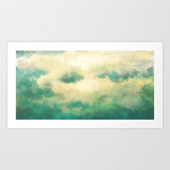 Clouds1213 Art Print