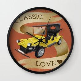 Classic love Wall Clock