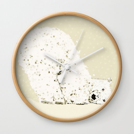 bears life 2 Wall Clock