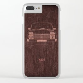 Niva's power Clear iPhone Case