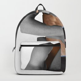 """HANDSOME TATTOOED"" BY ROBERT DALLAS Backpack"