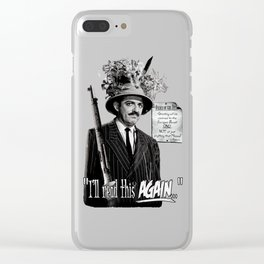 """Gomez Addams-""""Order of the Day"""" Clear iPhone Case"""