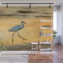 Walking on Gold Wall Mural