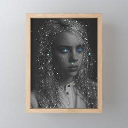 TRIPPY CRYSTAL ARTIST BILLIE Framed Mini Art Print