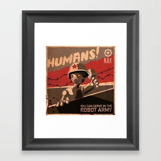 Propaganda Series 6 Framed Art Print