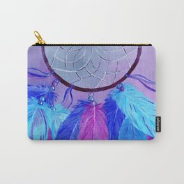 Dream Catcher Hand Painted Design Carry-All Pouch