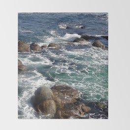 California Coast 01 Throw Blanket