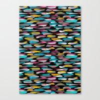 stripes Canvas Prints featuring Stripes by Meryl Pardoen