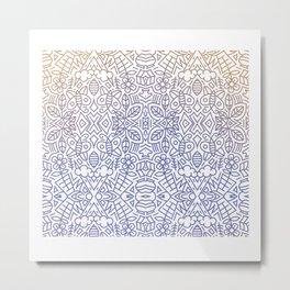 Decorative Pattern 1 Metal Print