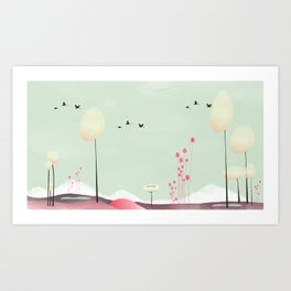 lambent Art Print