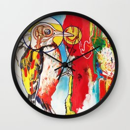 The Anatomy of Self Infliction  Wall Clock
