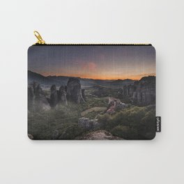 Sunset at Meteora Carry-All Pouch