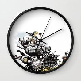metal slug Wall Clock