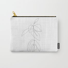 Still life plant drawing - Caca Carry-All Pouch