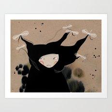 Mister Wind Art Print
