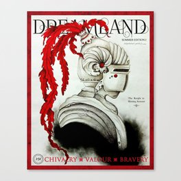 Dreamland Magazine Cover - Summer Ed. I - The Knight in Shining Armour Canvas Print