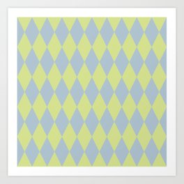 Soft pattern Art Print