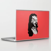 merry christmas Laptop & iPad Skins featuring Merry Christmas by Tshirtbaba