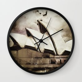 Sydney Opera House  Collection V Wall Clock