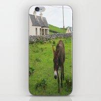 irish iPhone & iPod Skins featuring Irish Cottage by Kim Ramage