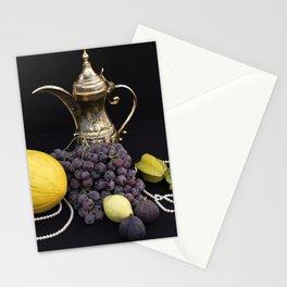 Oriental Fruit - Still life Stationery Cards