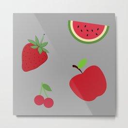 Fruits Design. Metal Print