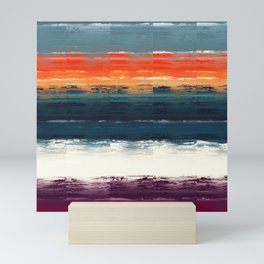 Boundaries Abstract Mini Art Print